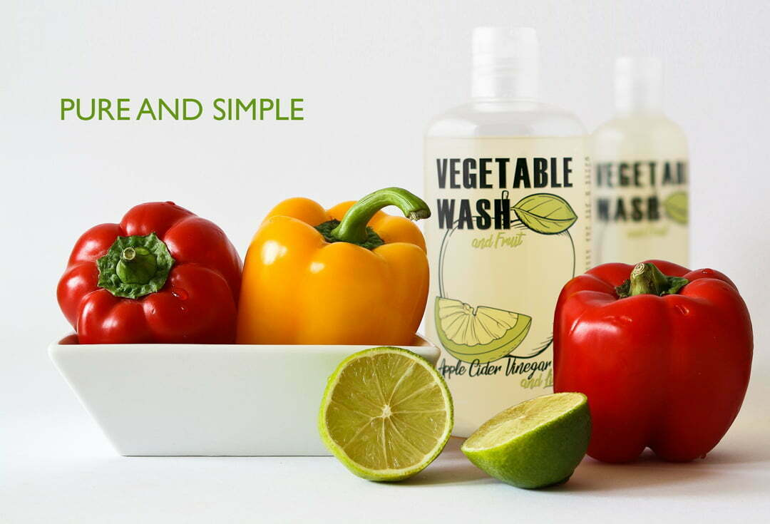 Pure and Simple Veggie Wash