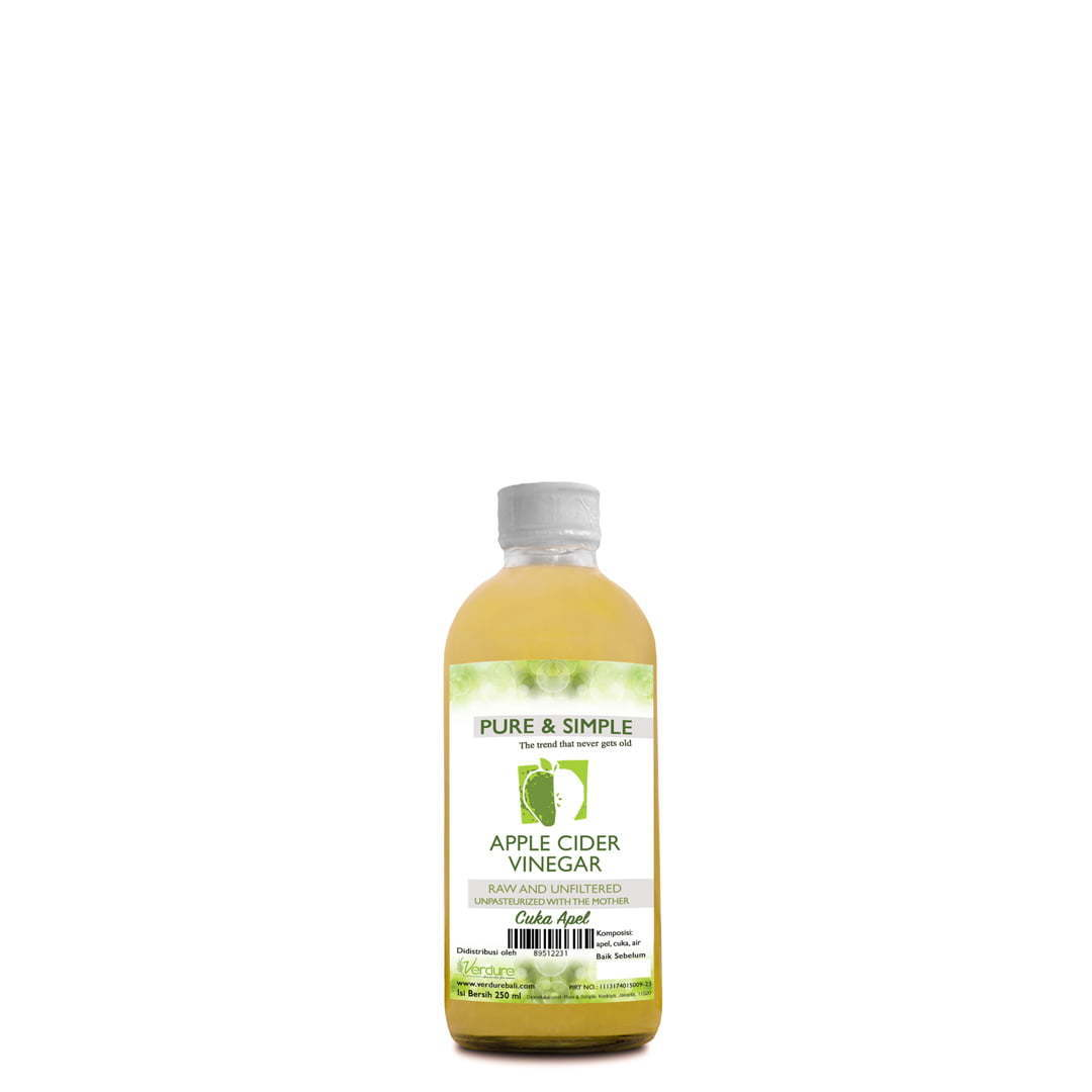 Pure and Simple Cuka Apel 250ml