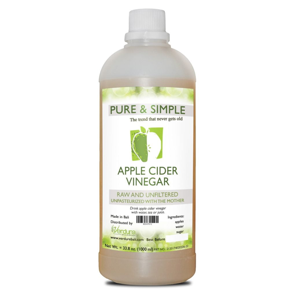 Pure and Simple Cuka Apel 1Liter