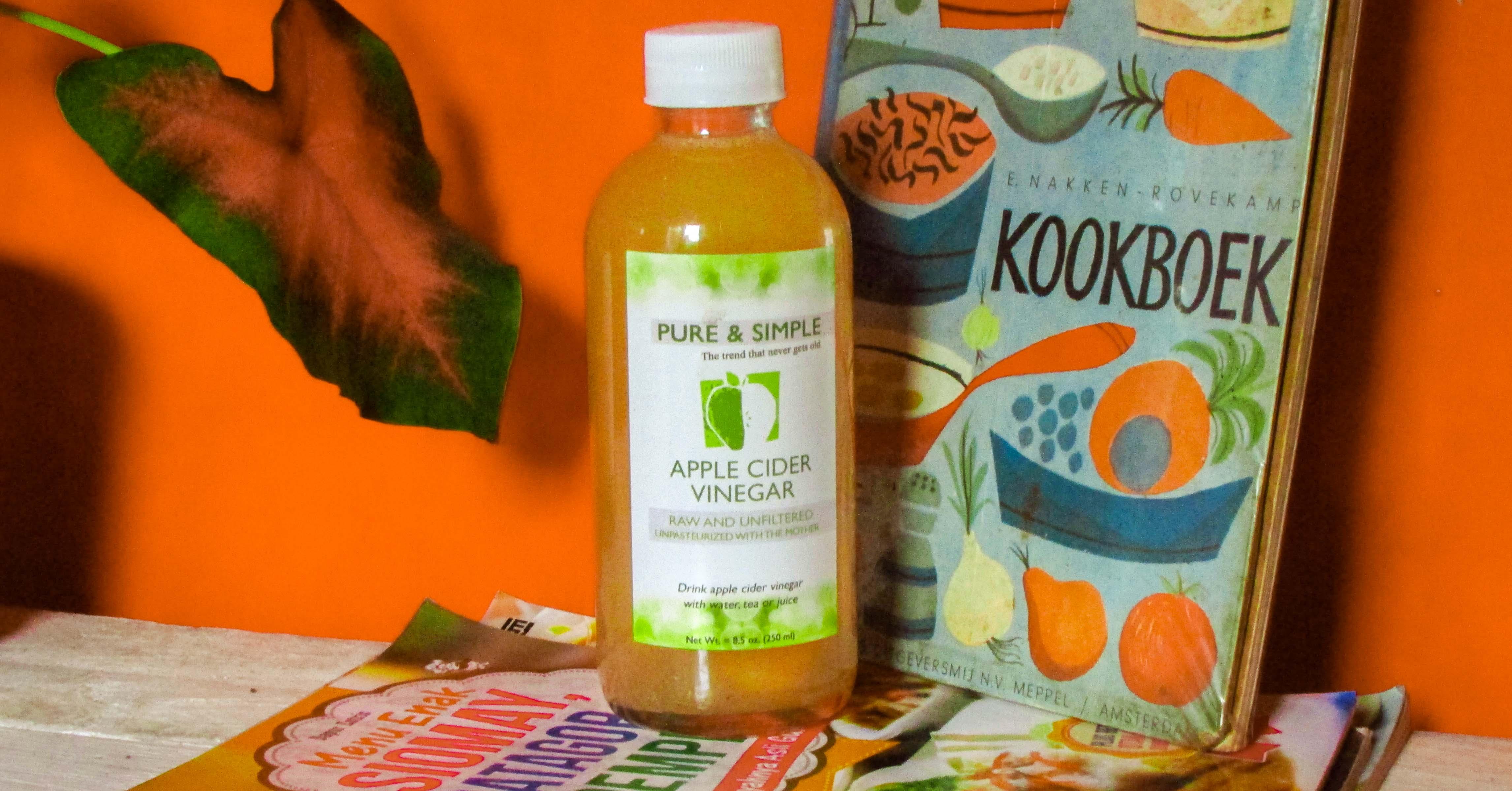 Pure and Simple Apple Cider Vinegar