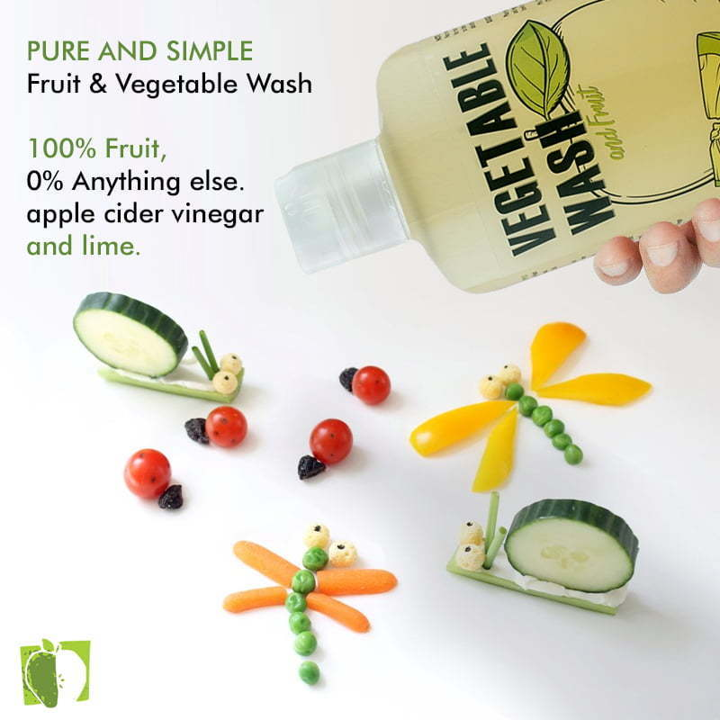 Pure and Simple Veggie Wash and Fruit