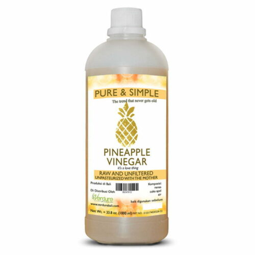 Cuka Nanas Pure and Simple Verdure 1Liter