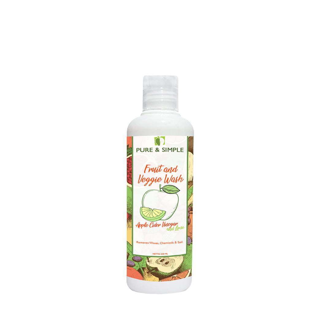 veggie wash pure and simple 250ml