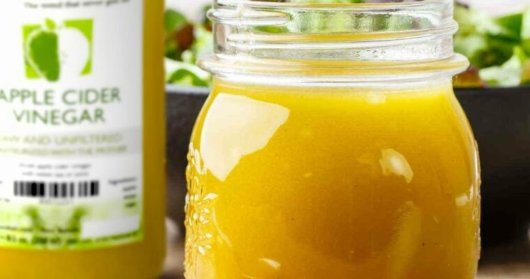 Resep Honey and Apple Cider Vinaigrette